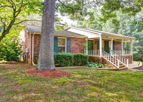 A Rare Basement Ranch Home With 3 Bedrooms, 3 Baths And A Finished Recreation Room In The Basement! Top It Off With A Private Fenced Wooded Lot, A Room To Ride Out The Tornados And A Workshop Space Downstairs! A 10, Indeed!